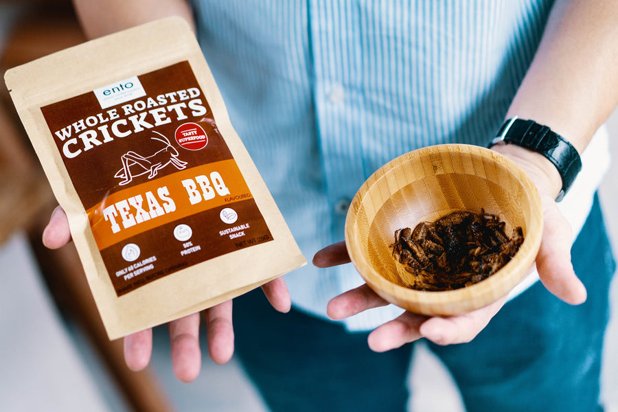 Eat Drink KL: Ento Whole Roasted Crickets