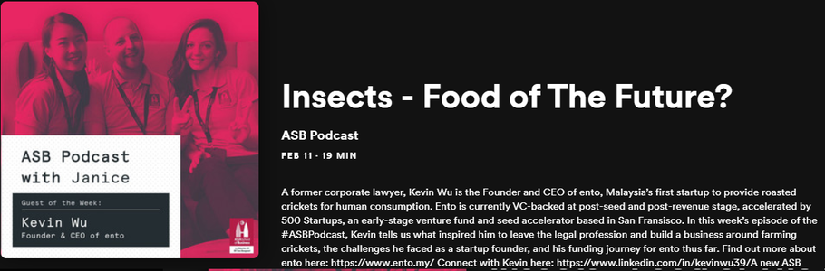 Insects - Food of The Future?