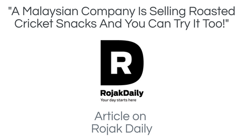 rojak daily article about ento crickets