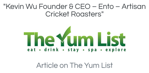 the yum list article about ento crickets