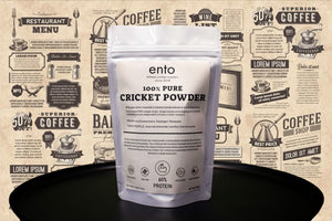 100% CRICKET PROTEIN POWDER - 100g