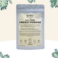 Load image into Gallery viewer, ento 100% Pure Cricket Powder 100g