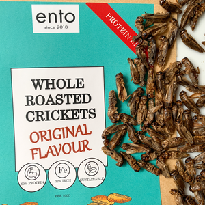ento Roasted Crickets 100g - Taster Bundle