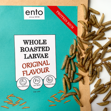 Load image into Gallery viewer, ento Roasted Larvae 200g - Taster Bundle