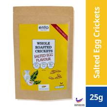 Load image into Gallery viewer, ento Salted Egg Yolk Roasted Crickets 25g