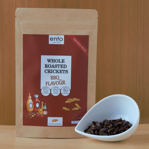 ento BBQ Roasted Crickets 25g