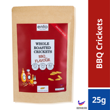 Load image into Gallery viewer, ento BBQ Roasted Crickets 25g