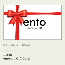 Load image into Gallery viewer, ENTO GIFT CARD