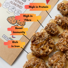 Load image into Gallery viewer, GRANOLA PROTEIN BITES - HONEY ALMOND