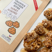 Load image into Gallery viewer, ento Granola Protein Bites 100g - Honey Almond