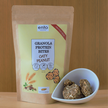 Load image into Gallery viewer, ento Granola Protein Bites 100g - Oaty Peanut