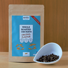 Load image into Gallery viewer, ento Original Roasted Crickets 25g
