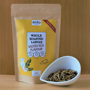 ento Salted Egg Yolk Roasted Larvae 50g