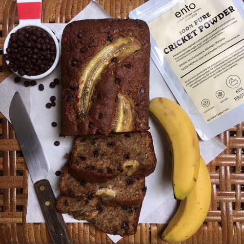 Zoé x ento High Protein Banana Bread (1 loaf x 760g)