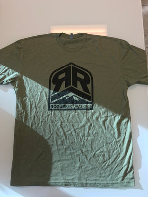 Badge Tee Green