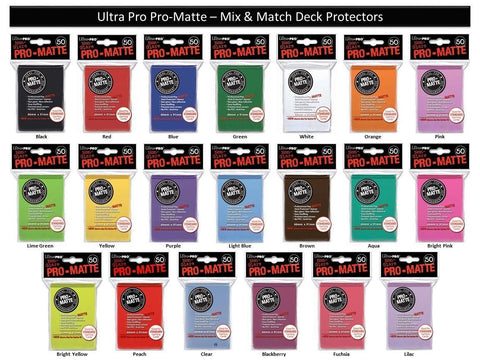 Ultra Pro Sleeves