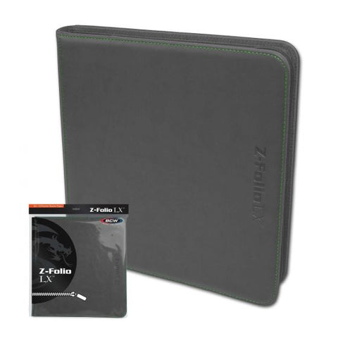 Z-Folio 12-Pocket LX Album - Gray