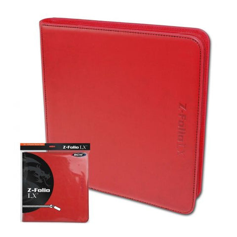 Z-Folio 12-Pocket LX Album - Red