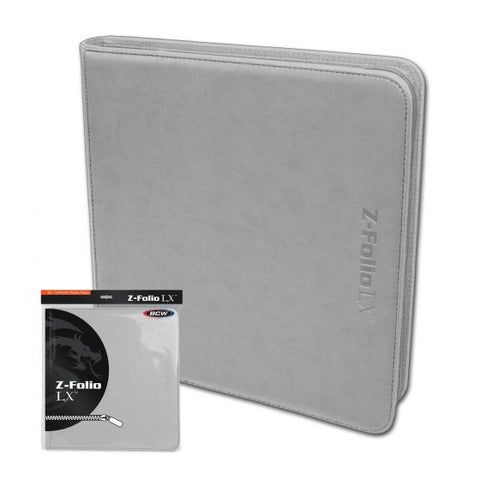 Z-Folio 12-Pocket LX Album - White