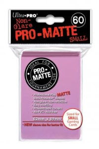 ProMatte Small Sleeves – Bright Pink