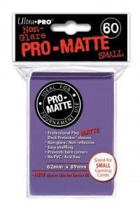 ProMatte Small Sleeves – Purple
