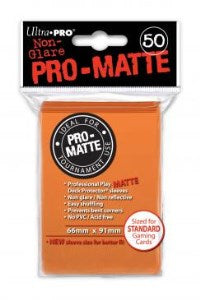 ProMatte  Standard Sleeves - ORANGE