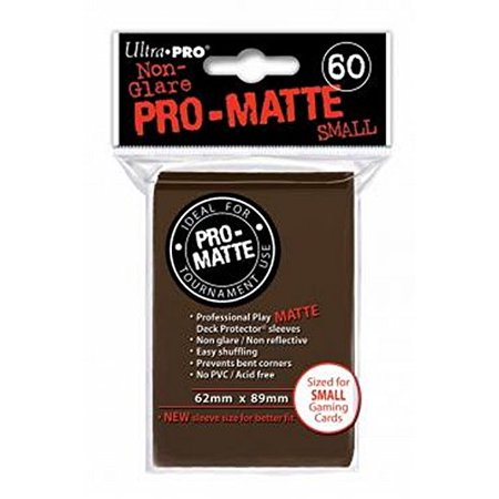ProMatte Small Sleeves – Brown