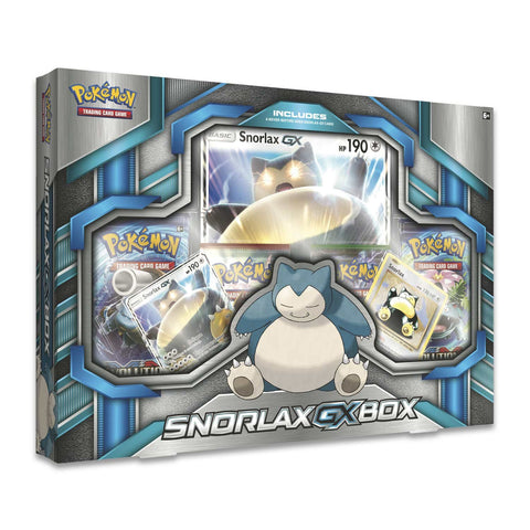 Pokemon TCG: Snorlax GX Box