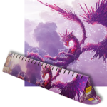 Dragon Shield Playmat Clear Purple Racan