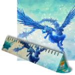 Dragon Shield Playmat Clear Blue Celeste