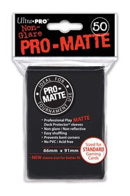 ProMatte  Standard Sleeves - BLACK