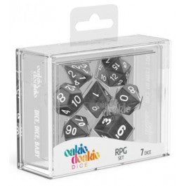 RPG Set Marble - Black (12)