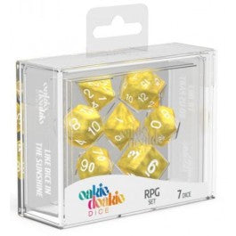 RPG Set Marble - Yellow (7)
