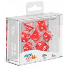 RPG Set Translucent - Red (7)
