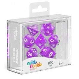 RPG Set Translucent - Purple (7)