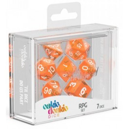 RPG Set Translucent - Orange (7)