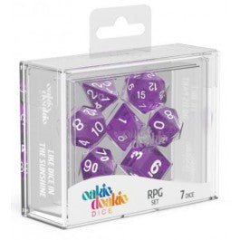 RPG Set Speckled - Purple (7)