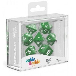 RPG Set Speckled - Green (7)