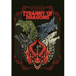 D&D Adventure: Tyranny of Dragons Alternate Cover