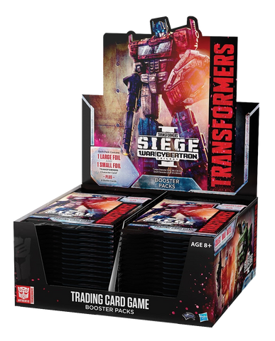 Transformers TCG: War for Cybertron - Siege Booster