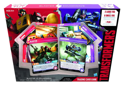 Transformers TCG: Blaster vs Soundwave Deck
