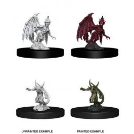 D&D Nolzur's Marvelous Miniatures - Quasit & Imp (Wave 9)