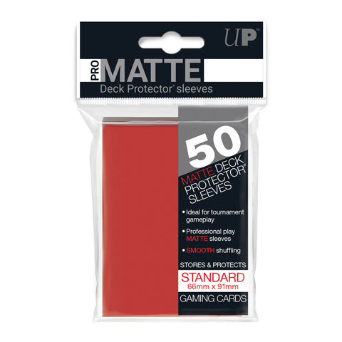 ProMatte  Standard Sleeves - RED