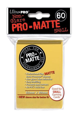 ProMatte Small Sleeves – Yellow