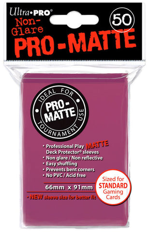 ProMatte  Standard Sleeves - BLACKBERRY