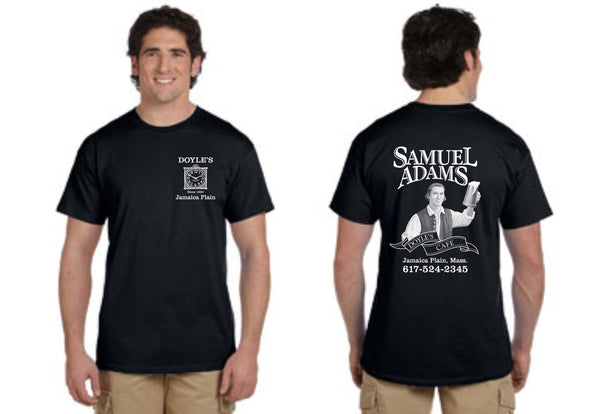 Doyle's Cafe Black Short Sleeve Tees