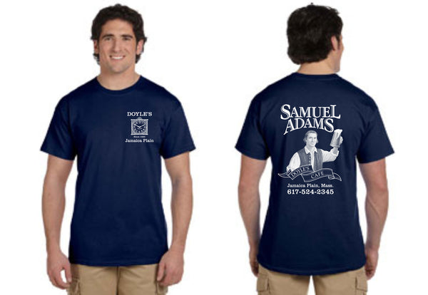 Doyle's Cafe Navy Short Sleeve Tees