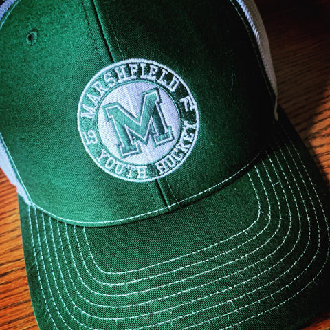 Marshfield Youth Hockey Trucker Hat