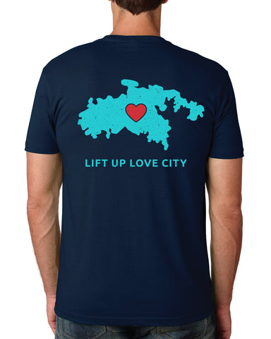 Lift Up Love City Tees