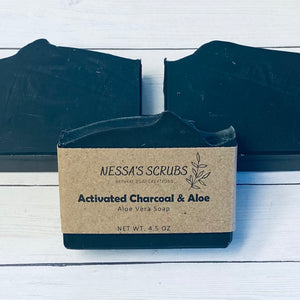 Activated Charcoal & Aloe
